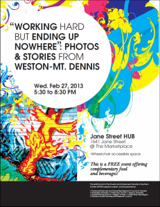 Photovoice exhibit flyer