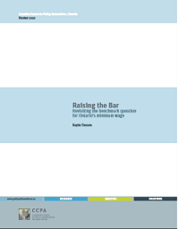 raising the bar report cover