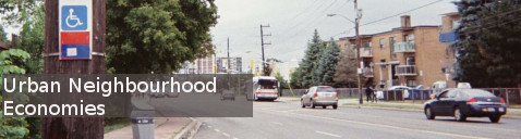 urban neighbourhood economies